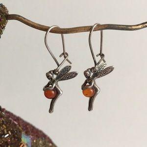 925 Silver Fairy Earrings